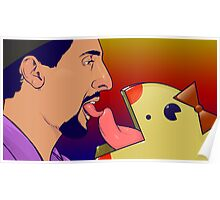 Jesus Loves Miss Pacman Poster