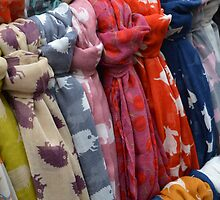 Scarfs  by Emily Shadbolt