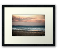 Consoling Sea Framed Print