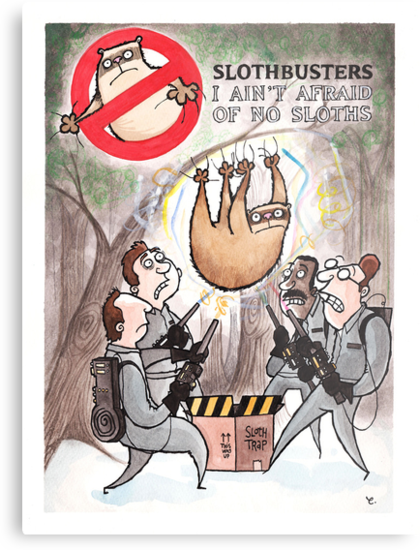 Slothbusters by dotmund