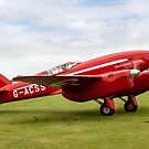 "De Havilland DH88 Comet Racer G-ACSS ""Grosvenor House"" by Colin Smedley"