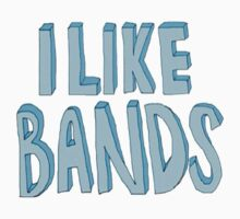 i like bands by pastelxprints