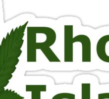 0237 I Love Rhode Island  Sticker