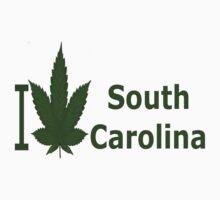 0238 I Love South Carolina by Ganjastan