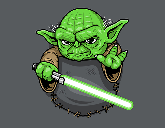 Pocket Jedi by harebrained