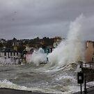 Portpatrick Storm by derekbeattie