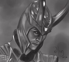 Loki the Trickster by WilliamKenney