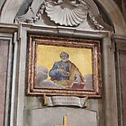 Mosaic of St. Peter by hummingbirds