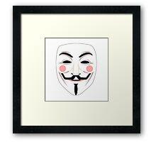 Anonymous Guy Faulkes Framed Print