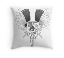 United Throw Pillow