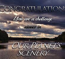 Banner for Our Planet's Scenery challenge by vigor