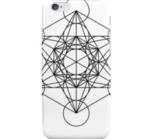 Metatron's Cube - Sacred Geometry iPhone Case/Skin
