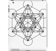Metatron's Cube - Sacred Geometry iPad Case/Skin