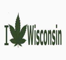 0247 I Love Wisconsin  by Ganjastan