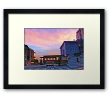 Lombard and Hyde Framed Print
