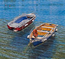 I love boats by Freda Surgenor