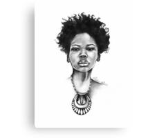 Wakeema - The Beauty Collection Canvas Print