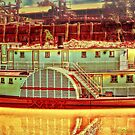 Murray River Paddle Steamer by wallarooimages