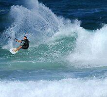 Kite Surfer #3 by Noel Elliot