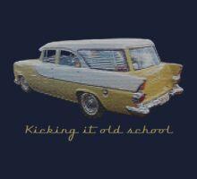 Kicking it old school (EK Wagon) Kids Clothes