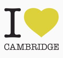 I ♥ CAMBRIDGE T-Shirt