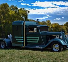 1933 Plymouth Semi Truck by TeeMack