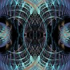Abstract fractal case4 by Zoe Gentz