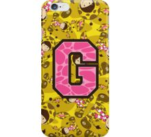 G is for Giraffe iPhone Case/Skin