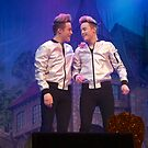Jedward - John and Edward by Lisa Hafey