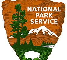 National Park Service Shaded Logo by boogeyman