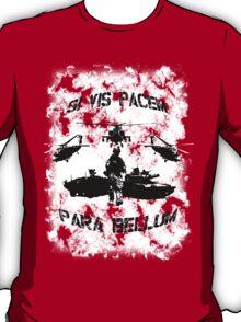 Si vis pacem para bellum USA T-Shirt
