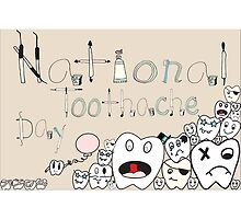 Toothache day by hmvdesigns