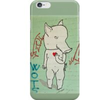 Naked Piggy iPhone Cover iPhone Case/Skin