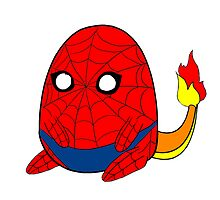 SpiderCharmander by Emnesty-