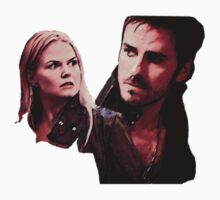 Once Upon a Time - Captain Swan by Duha Abdel.
