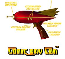 Retro Sonic Ray Gun by simonbreeze
