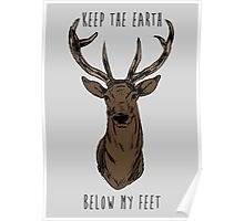 Keep The Earth Below My Feet. Poster