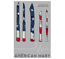 American Mary Minimalist Poster Photographic Print