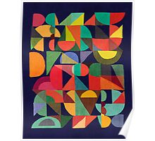 Color Blocks Poster