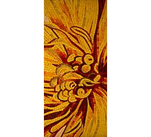 Imagination in Hot, Vivid Yellows Photographic Print