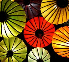 Oriental lanterns IV by Paige