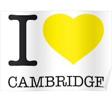 I ♥ CAMBRIDGE Poster