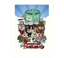 Adventure Time-Lords Art Print