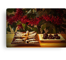 Christmas sweets Canvas Print