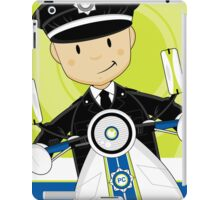 P is for Policeman iPad Case/Skin