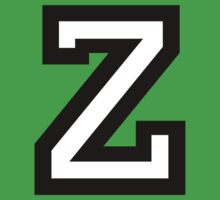 Letter Z two-color by theshirtshops