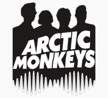 Arctic Monkeys Black by PhilosophyArt