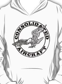 Consolidated Aircraft Logo (Black) T-Shirt