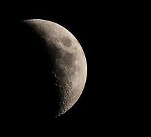 Waxing Crescent by Douglas McMann