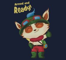 Teemo: Armed and Ready! by Chaddersatz